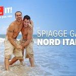 Spiagge gay Nord Italia