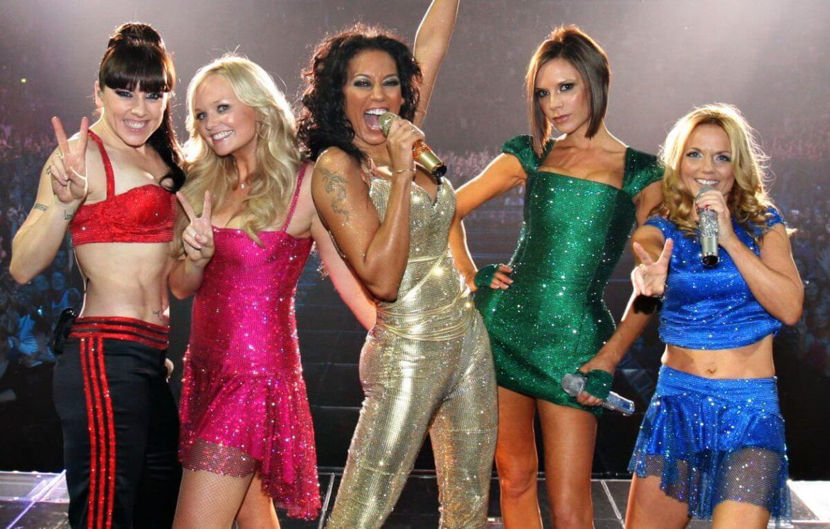 Spice Girls nel Return of Spice Girls reunion tour del 2007/2008