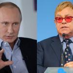 Putin e Elton John