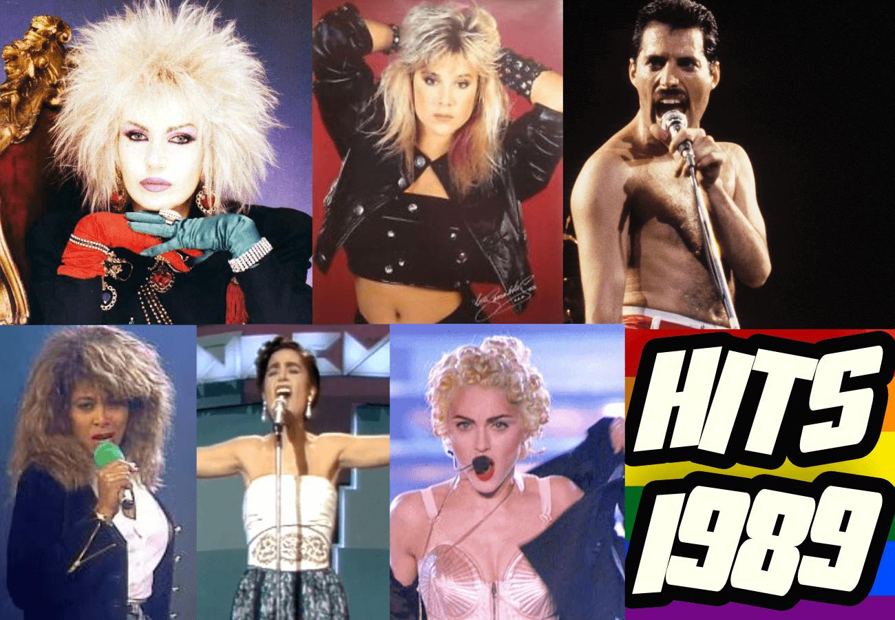 Le canzoni più amate dalla comunità gay 1989