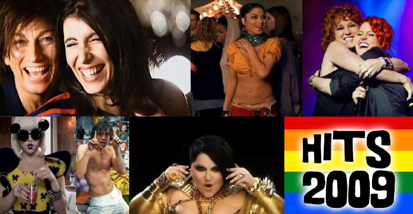 Le canzoni più amate dalla comunità gay 2009