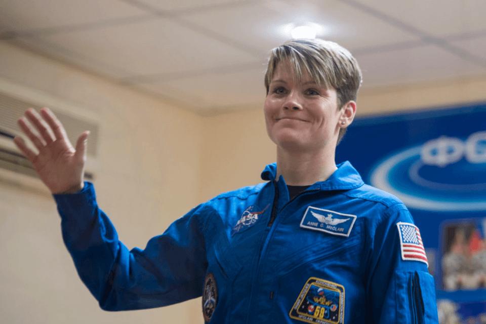 L'astronauta lesbica Anne McClain