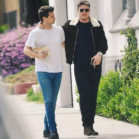 brandon flynn e richard madden