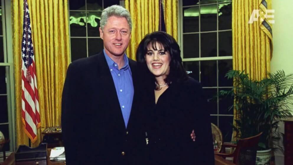 Bill Clinton e Monica Lewisnky