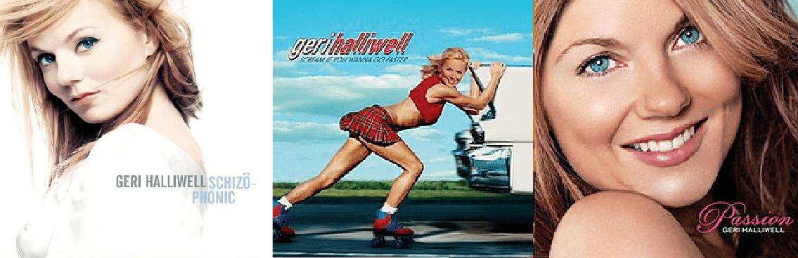 Gli album di Geri Halliwell
