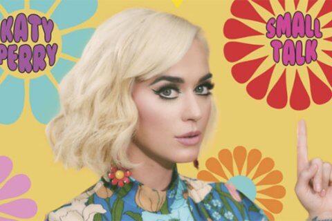 Katy Perry Small Talk singolo cover