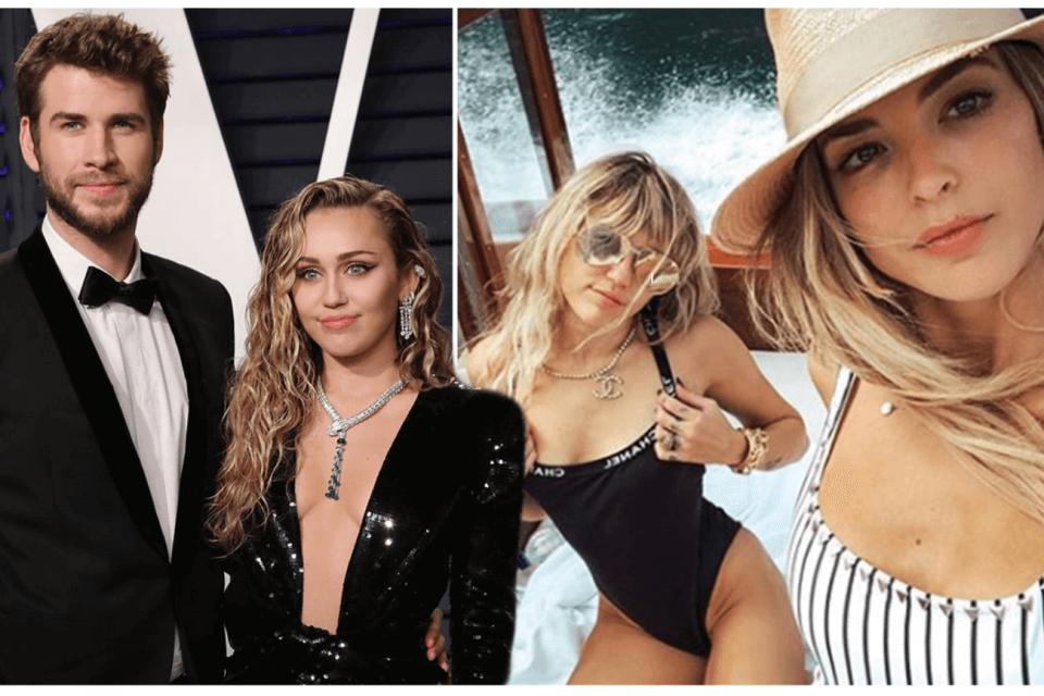 Miley Cyrus, Liam Hemsworth, Kaitlynn Carter