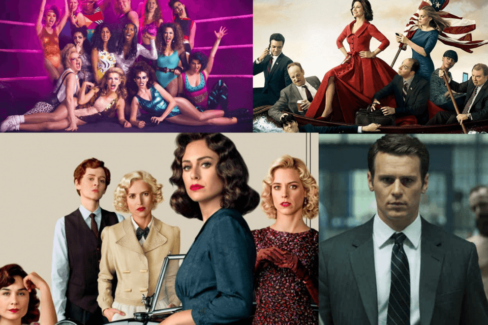 Le serie tv in uscita ad Agosto 2019 tra cui Glow 3, Mindhunter 2, Veep 7 e Le ragazze del centralino 4