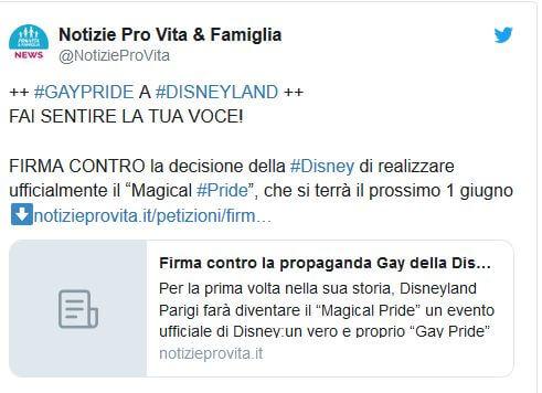 Magical Pride proteste