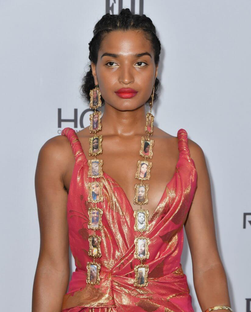 Indya Moore Fashion Media Awards 2019