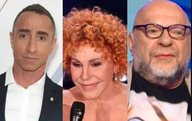 Giuliano Peparini, Ornella Vanoni, Mauro Coruzzi Platinette Amici Celebrities 2019