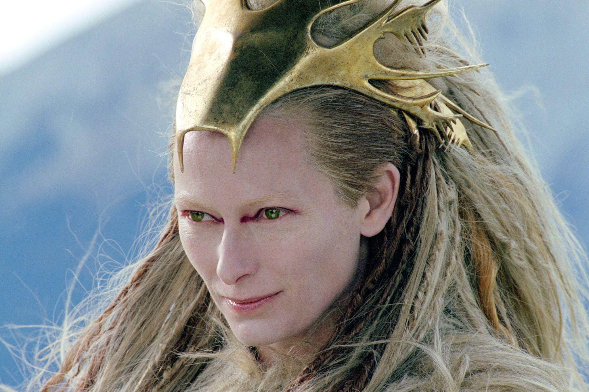 Tilda Swinton ne 'Le Cronache di Narnia'