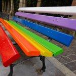 panchine arcobaleno