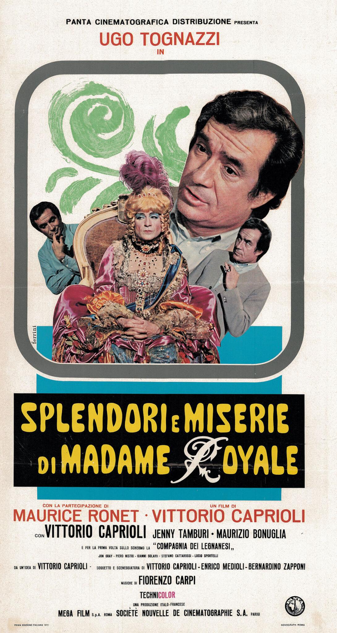Splendori e miserie di Madame Royale, esce il libro che celebra il primo film italiano con protagonista gay (Splendori e miserie di Madame Royale)