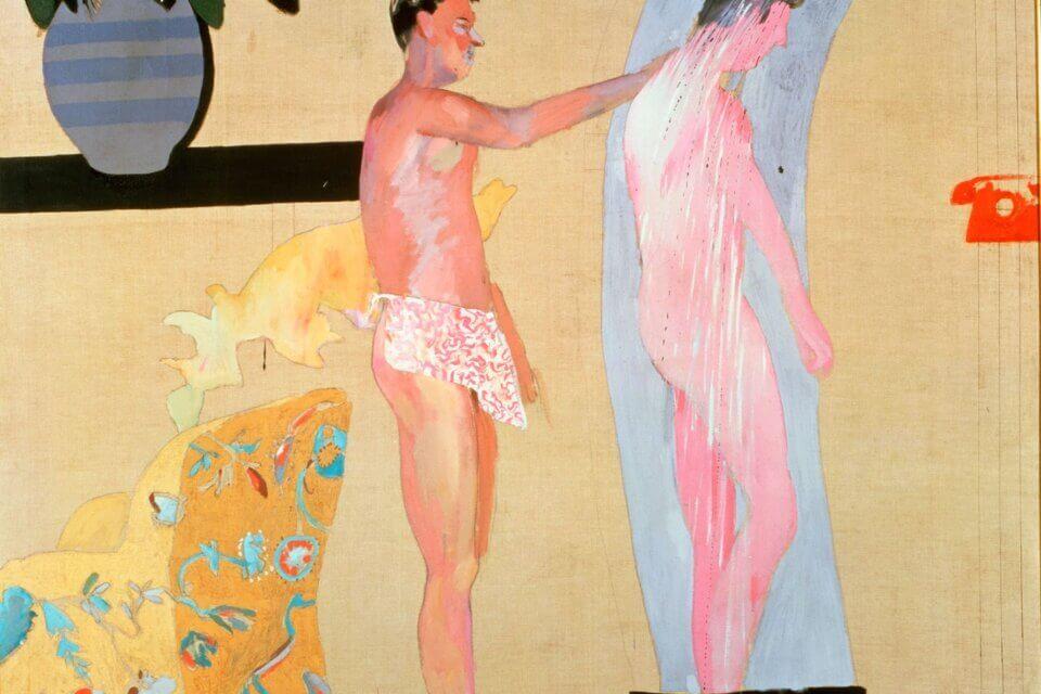 david hockney, arte queer, pittori lgbt