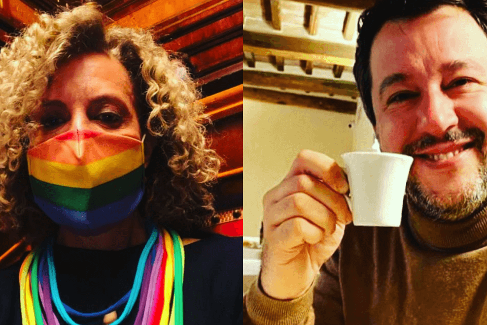 Monica Cirinnà smonta il DDL contro l'omofobia presentato dalla destra (cirinnà salvini)