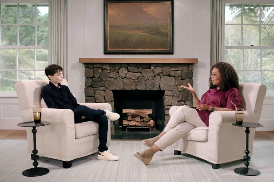 """The Oprah Conversation: Elliot Page"", dal 6 maggio su Apple TV+ (Elliot Page)"