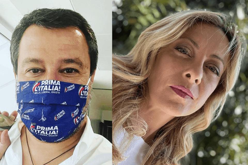 Lega e Fratelli d'Italia difendono l'omotransfobia ungherese e votano CONTRO la risoluzione UE (Salvini e Meloni)