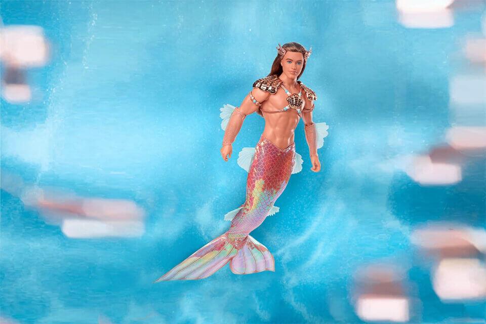 Ken Sirenetto, il compagno di Barbie è semplicemente favoloso (ken sirenetto mattel cut)