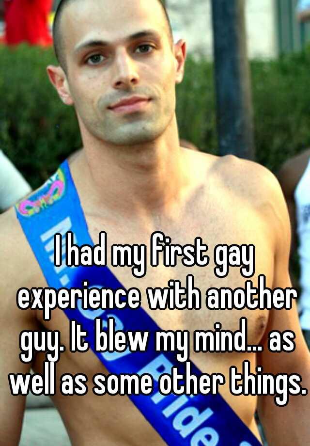 Sesso gay per la prima volta