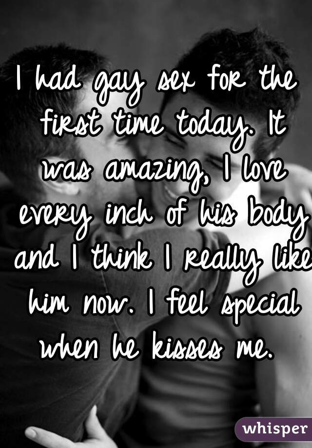 la prima volta che ho avuto sesso gay