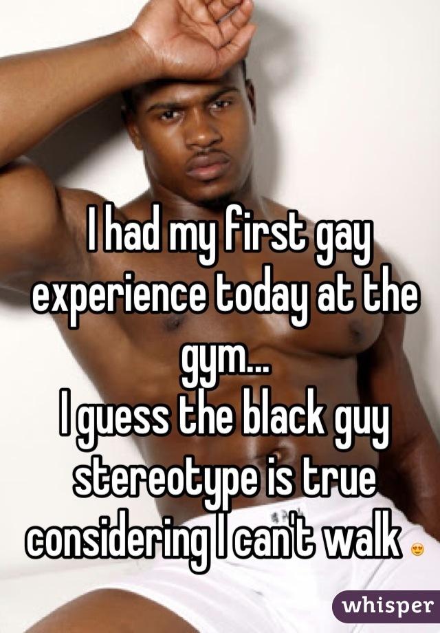 Quando hai prima sesso gay